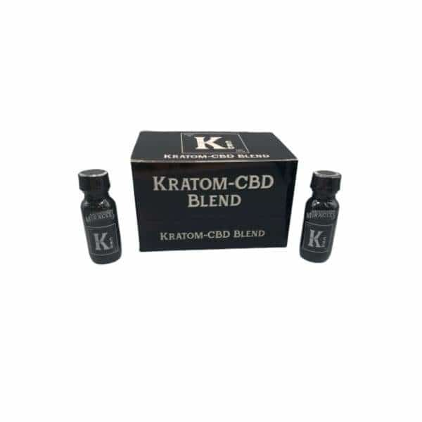 Kratom-CBD Blend Extract Shots - BG Sales (4723268419716)