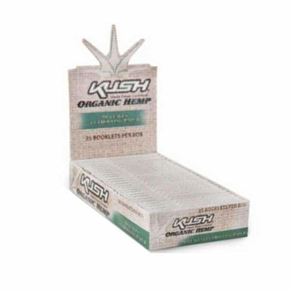 Kush Organic Hemp 1 1/4 Rolling Papers - BG Sales (4049830182994)