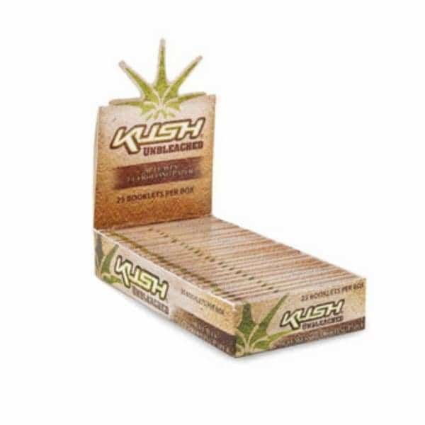 Kush Unbleached 1 1/4 Rolling Papers - BG Sales