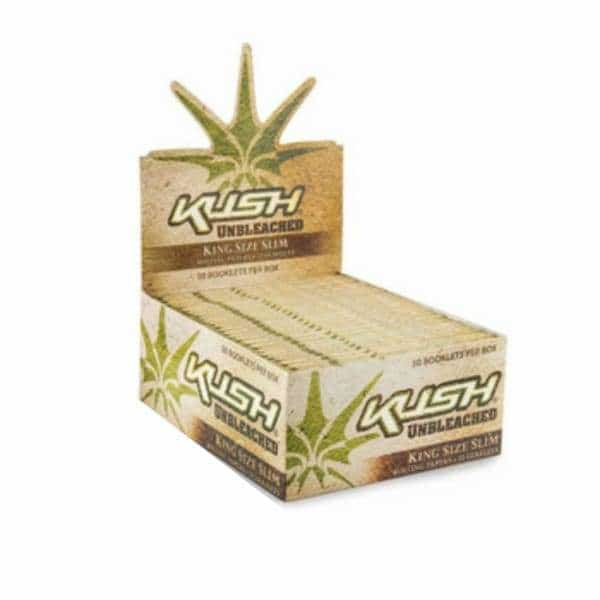 Kush Unbleached King Size Rolling Papers - BG Sales (4049860362322)