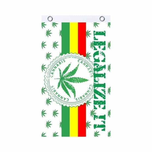 Legalize It Fly Flag - BG Sales (4540829794436)