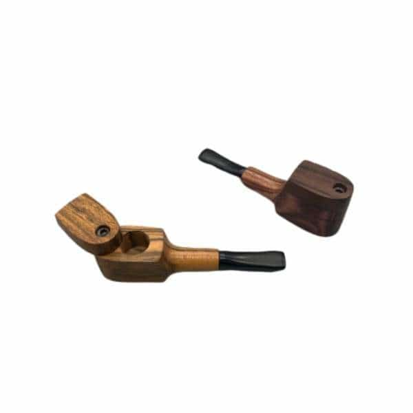 Mill Small Mup Wooden Pipe Cap - BG Sales (4352377913476)