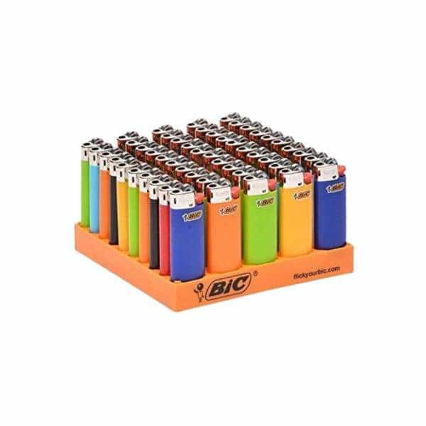 Mini Bic Lighter 50ct Display | bg-sales-1.