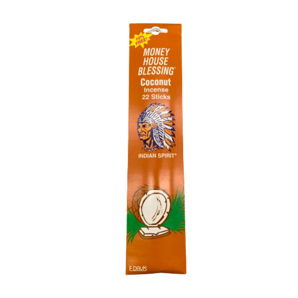 Money House Blessing Coconut Incense Sticks