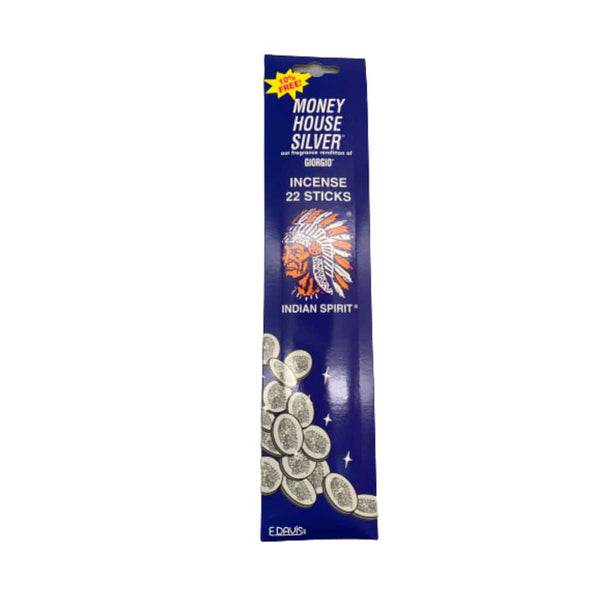 Money House Blessing Silver Incense Sticks