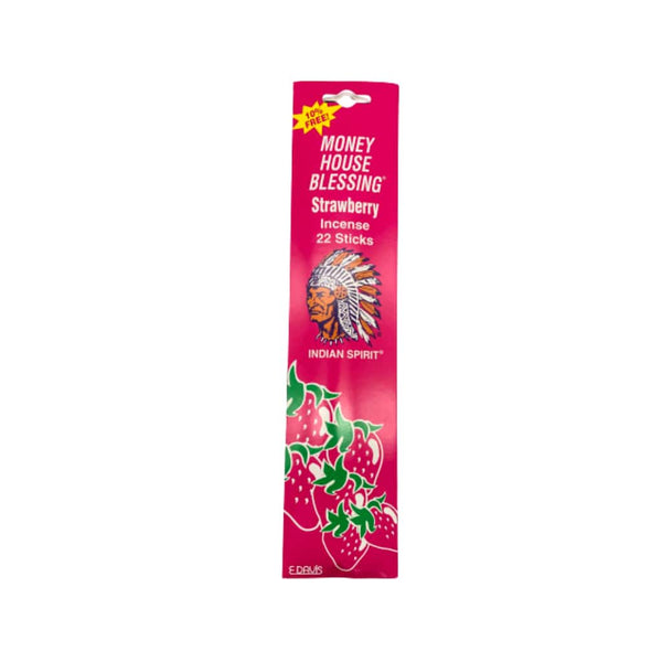 Money House Blessing Strawberry Incense Sticks
