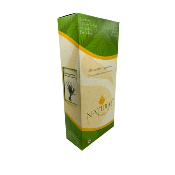 Natural Scent Lemongrass Incense Bundle | bg-sales-1.
