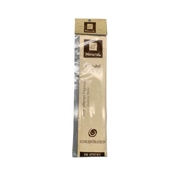 Natural Scents Jasmine Incense Stick - 20ct | bg-sales-1.