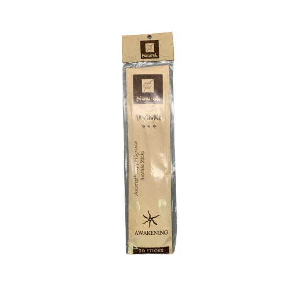 Natural Scents Lavender Incense Stick - 20ct | bg-sales-1.