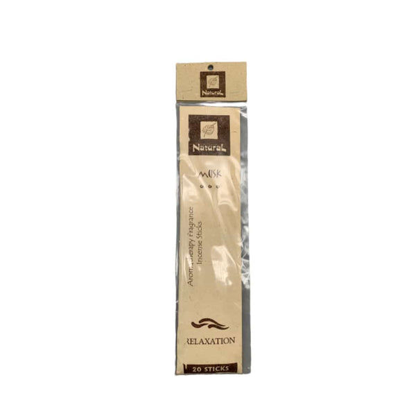 Natural Scents Musk Incense Stick - 20ct | bg-sales-1.