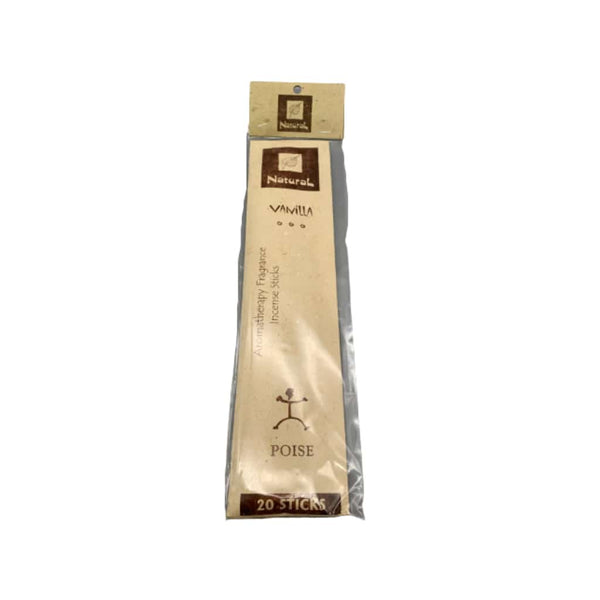 Natural Scents Vanilla Incense Stick - 20ct | bg-sales-1.