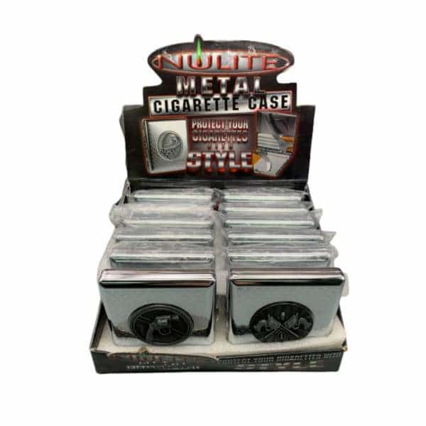 Nulite Cigarette Case Emblem 12ct Display | bg-sales-1.