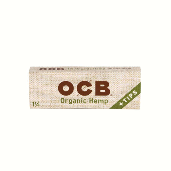 OCB Organic Hemp 1 1/4 | Papers Tips | bg-sales-1.