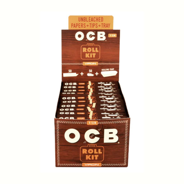 "OCB Virgin 1 1/4"" Roll Kit 
