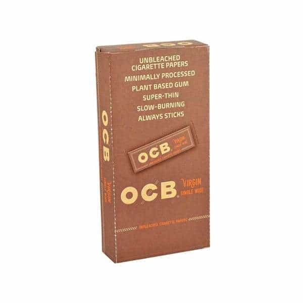 OCB Virgin Single Wide Papers - 24ct | bg-sales-1.