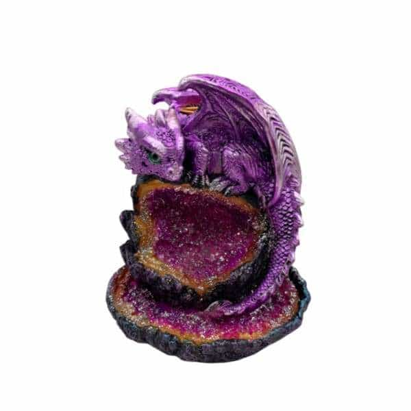 Purple Baby Dragon Crystal Backflow Burner | bg-sales-1.
