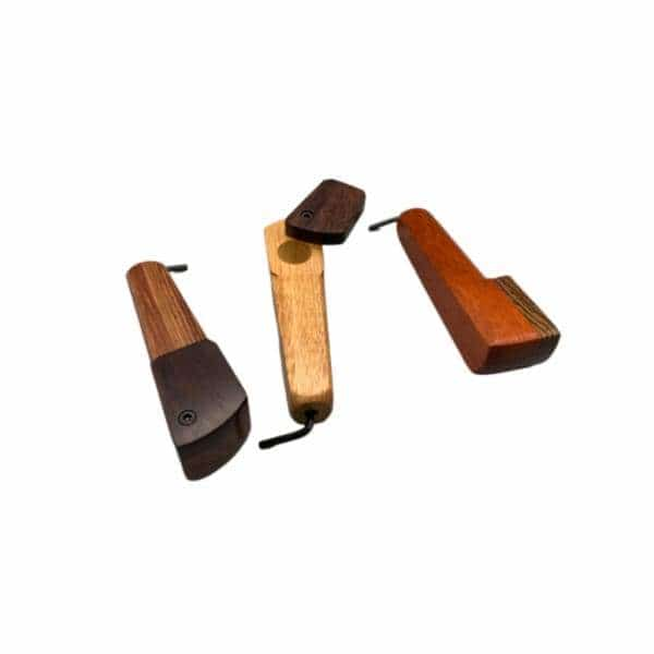 Quick Draw Wooden Pipe - QDTP21 - BG Sales (4351774589060)