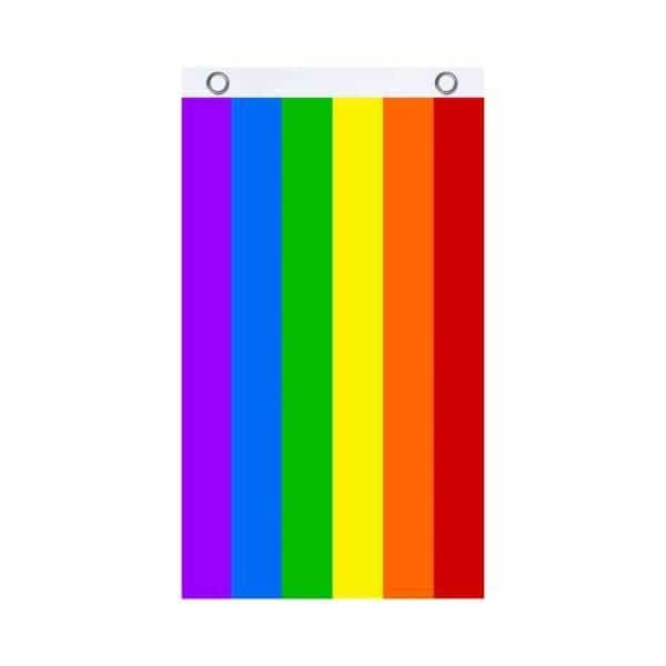 Rainbow Fly Flag - BG Sales (4540840607876)