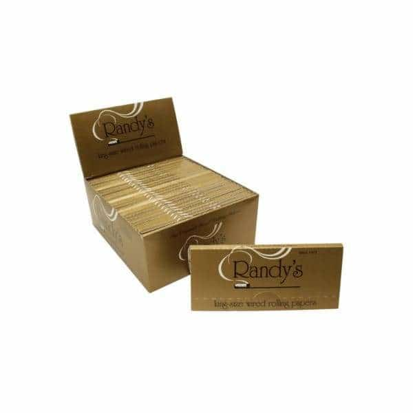 Randy's Gold King Size Papers - BG Sales (4033083539538)