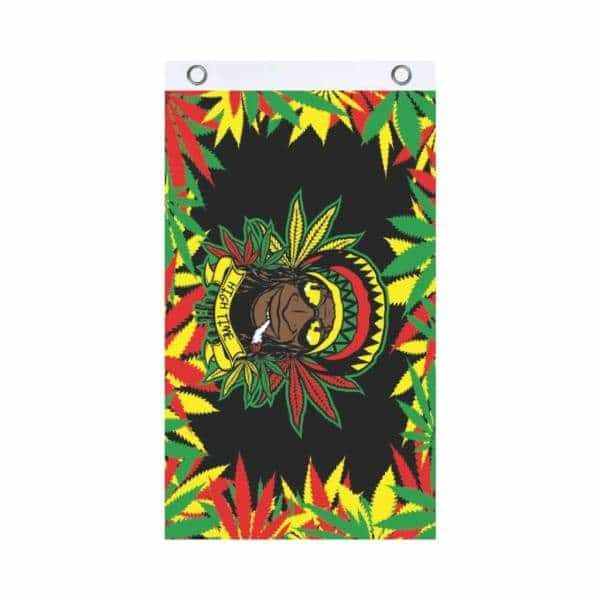 Rasta Dude Fly Flag - BG Sales (4540844867716)