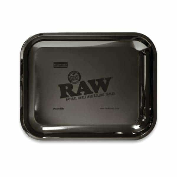 RAW Black Gold Large Rolling Tray - BG Sales (4057302532178)