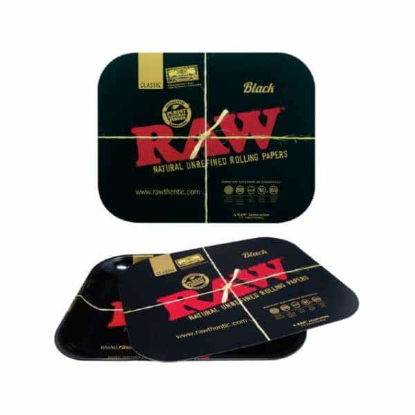 RAW Black Magnetic Tray Covers