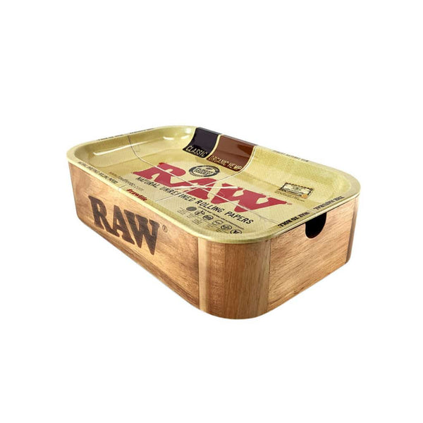 RAW Cache Box Rolling Tray - BG Sales