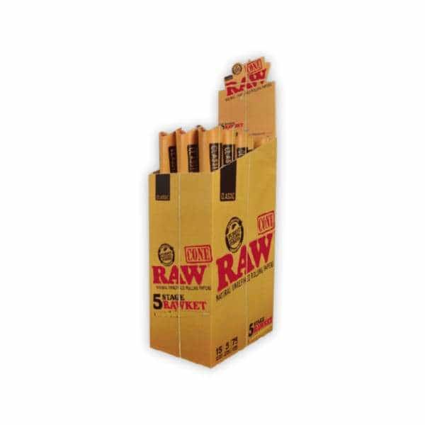 RAW Classic 5 Stage RAWket Pack - BG Sales