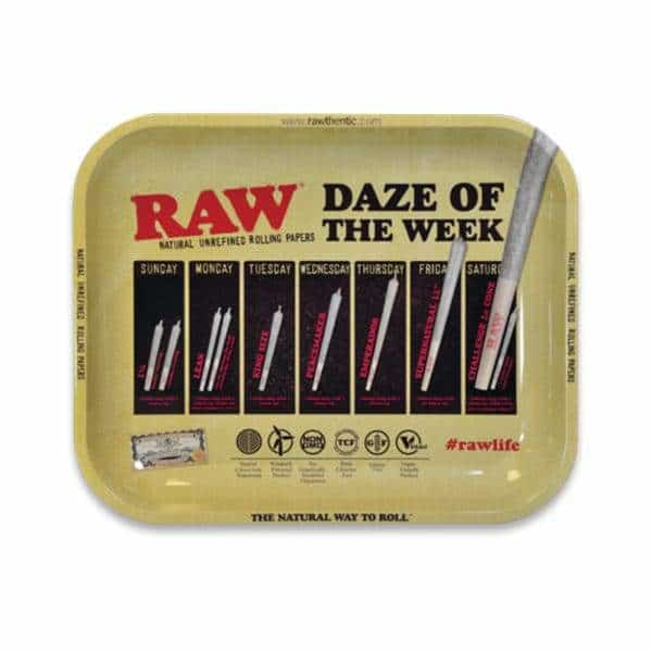 RAW Daze Of The Week Rolling Tray - BG Sales