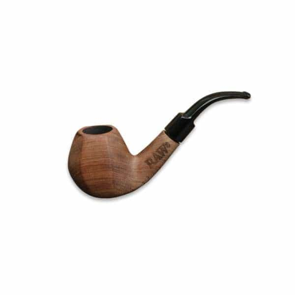 RAW Engraved Wood Tobacco Pipe - BG Sales