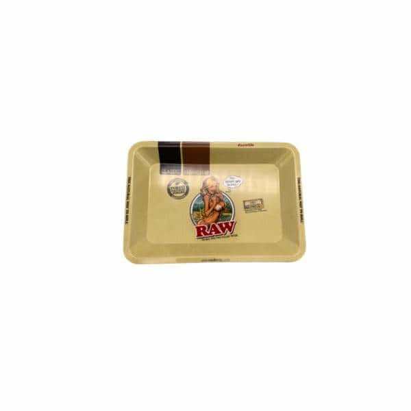 RAW GIRL Mini Rolling Tray