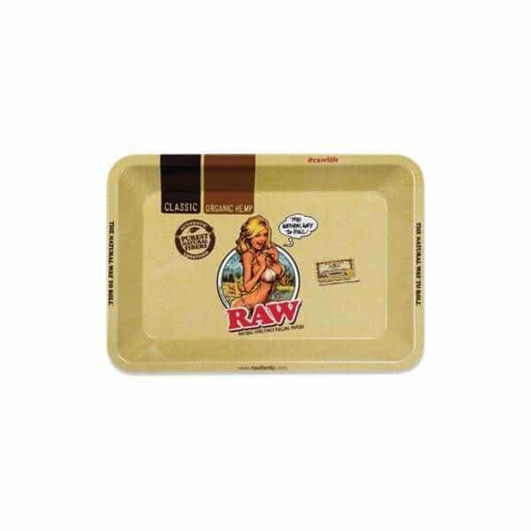 RAW GIRL Small Rolling Tray | bg-sales-1.