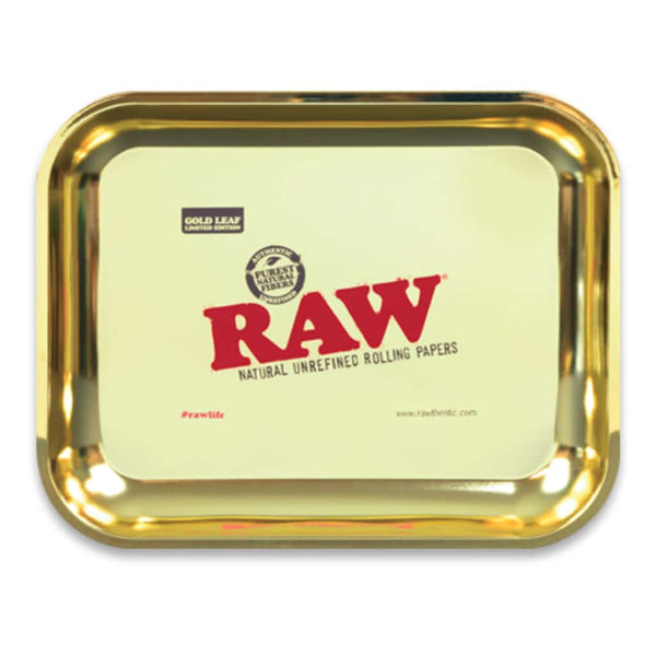 RAW Gold Leaf Large Rolling Tray