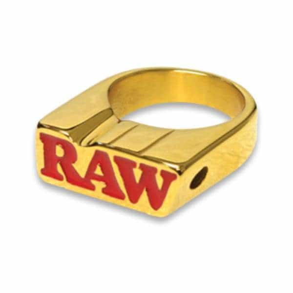 RAW Gold Smoker Ring - BG Sales