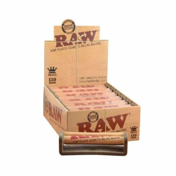 RAW Hemp 110mm Plastic Roller - BG Sales (4084792197202)