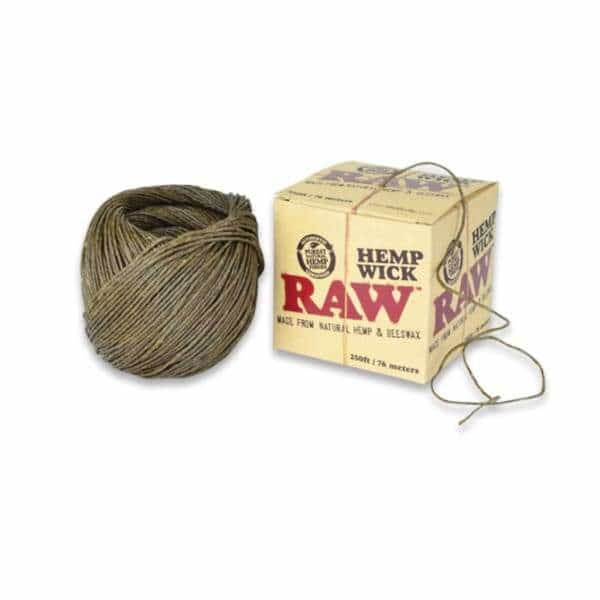 Raw Hemp Wick 250ft Spool - BG Sales