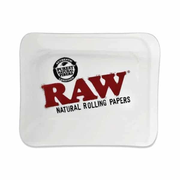 RAW Large Glass Rolling Tray