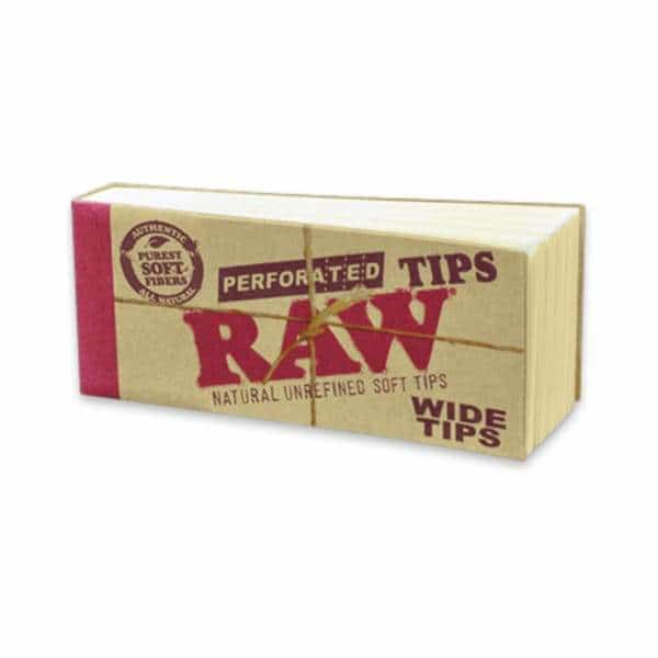 RAW Perforated Wide Tips - BG Sales (4004113940562)
