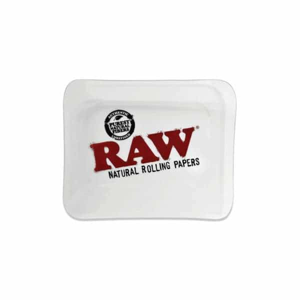 RAW Small Glass Rolling Tray