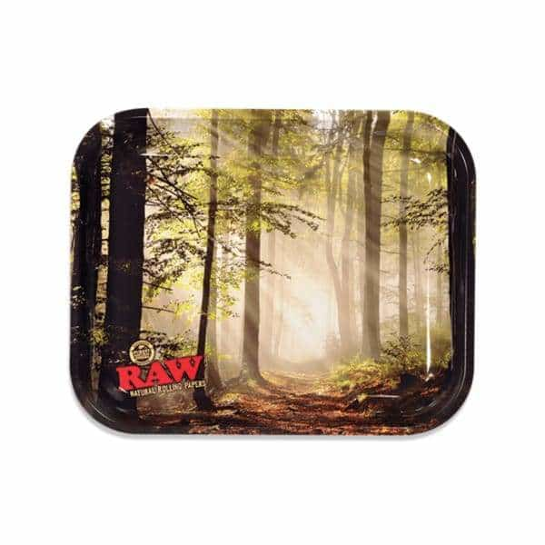 RAW Smokey Forest Large Rolling Tray | bg-sales-1.