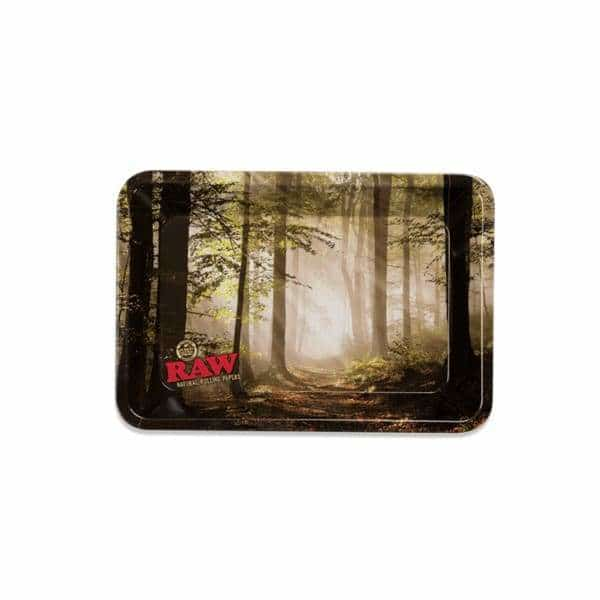 RAW Smokey Forest Mini Rolling Tray | bg-sales-1.