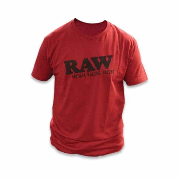 RAWlife Red Logo Tee - BG Sales (4384434585732)