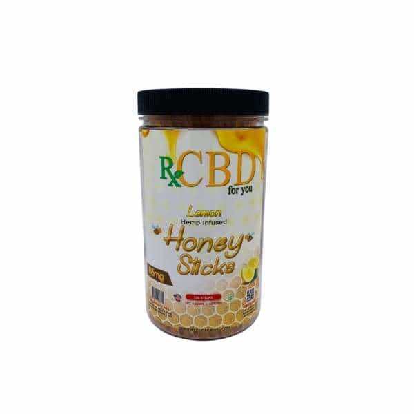 Rx CBD Lemon Honey Sticks 100ct - BG Sales (4053253390418)