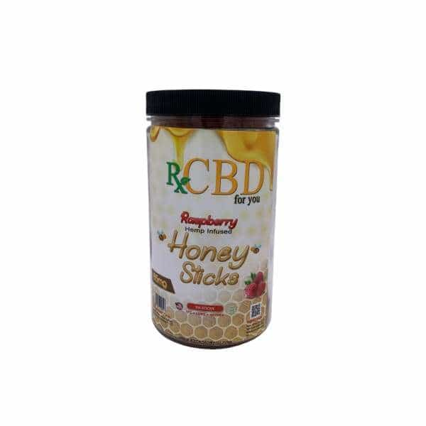 Rx CBD Raspberry Honey Sticks 100ct - BG Sales (4053314437202)