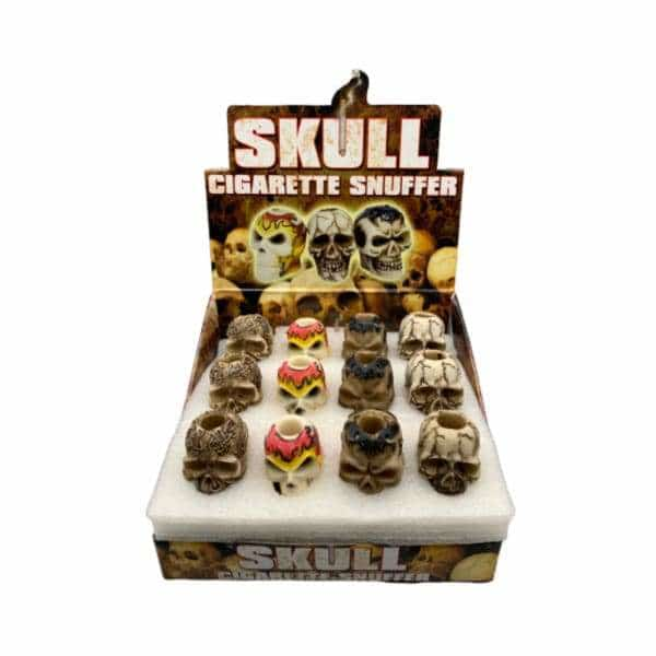 Skull Cigarette Snuffer 24ct Display - BG Sales (4452805902468)