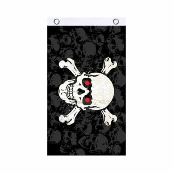 Skull Crossbones Fly Flag - BG Sales (4540850700420)
