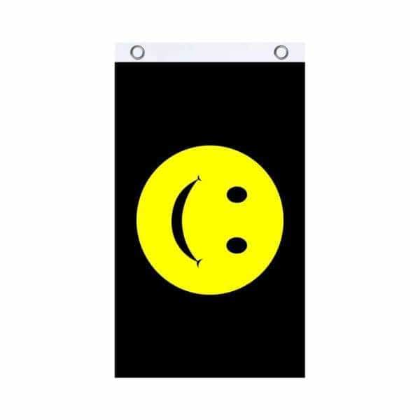 Smiley Face Fly Flag - BG Sales (4540856926340)
