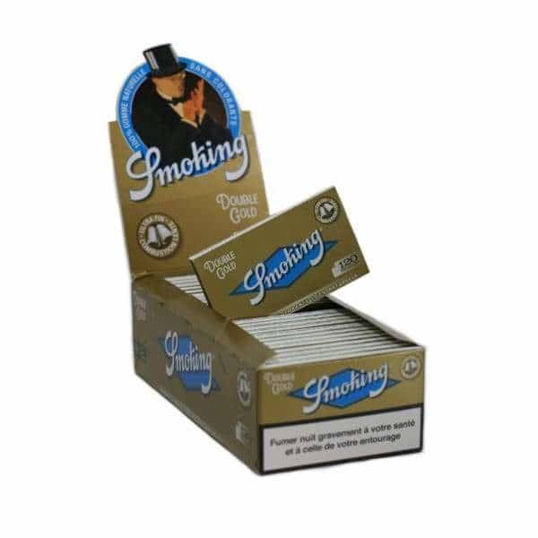 Smoking Brand Gold Double Papers - BG Sales (4032693600338)