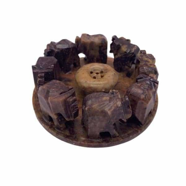 Stone Elephant Incense Burner - BG Sales (4226964127826)