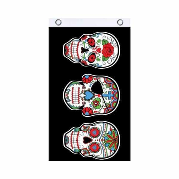 Sugar Skull Fly Flag - BG Sales (4540859252868)